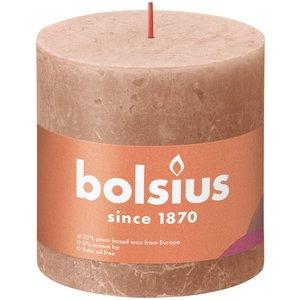 Bolsius Rustiek stompkaars 100/100  Creamy Caramel