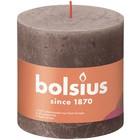 Bolsius Rustiek stompkaars 100/100 Rustic Taupe
