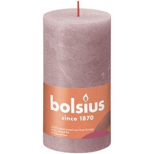 Bolsius Rustiek stompkaars 130/68 Ash Rose