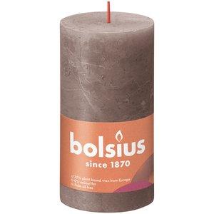 Bolsius Rustiek stompkaars 130/68 Rustic Taupe