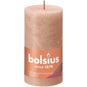 Bolsius Rustiek stompkaars 130/68 Creamy Caramel