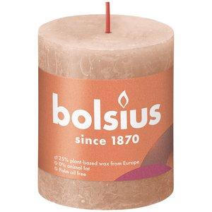 Bolsius Rustiek stompkaars 80/68 Creamy Caramel
