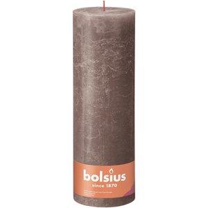 Bolsius Rustiek stompkaars 300/100 Rustic Taupe