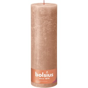 Bolsius Rustiek stompkaars 300/100 Creamy Caramel