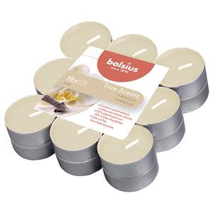 Bolsius True Scents Geur waxinelichtjes Vanille