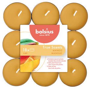 Bolsius True Scents Geur waxinelichtjes Mango