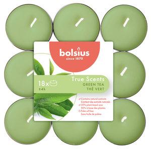 Bolsius True Scents Geur waxinelichtjes Green Tea
