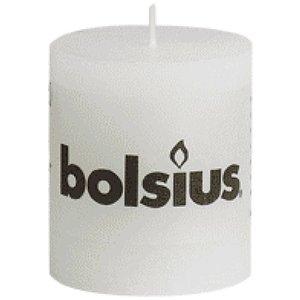 Bolsius Bolsius rustieke stompkaarsen 80/68 mm wit