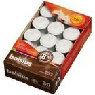 Bolsius Waxinelichtjes 8 uur doos Wit 30 stuks