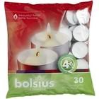 Bolsius Waxinelichtjes 30 stuks in een zak 4 branduren