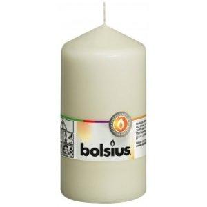 Bolsius Stompkaars kleur ivoor 130/68 mm