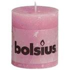 Bolsius Stompkaarsen 80/68 mm roze