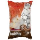 Bolsius Waxinelichtjes 50 stuks in een zak 8 branduren