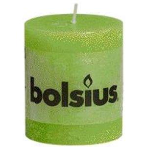 Bolsius Kleine Rustieke stompkaars 80/68 mm Lemon