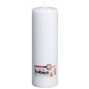 Bolsius Stompkaarsen 250/80 mm wit