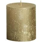 Bolsius kaarsen Stompkaars 80/68 metallic goud