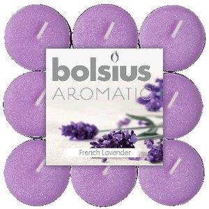 Bolsius kaarsen Lavendel Geur Theelichten 18 stuks in een pak