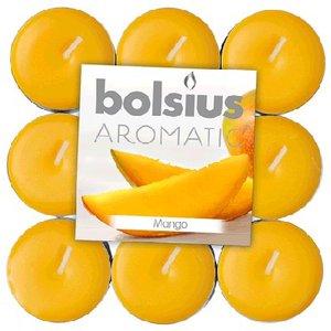 Bolsius kaarsen Exotic Mango Geur Theelichten 18 stuks in een pak