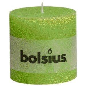 Bolsius Bolsius rustieke stompkaarsen lemon online in de kaarsenwinkel