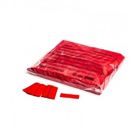 Magic FX Slowfall confetti 55x17 mm - 1kg - Rood