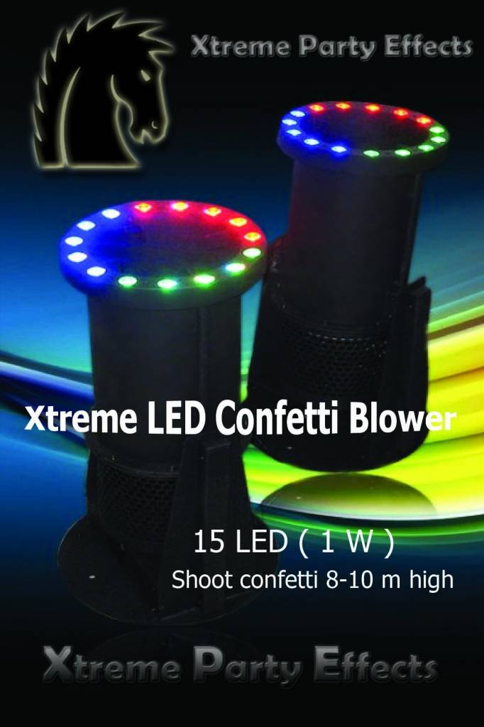 Xtreme Party Effects Xtreme LED Confetti Fountain Small DMX