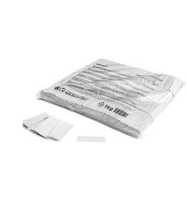 Magic FX Slowfall confetti 55x17 mm - 1kg - Blanc