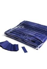 Xtreme Party Effects Slowfall confetti 55x17 mm - 1kg - Bleu Foncé