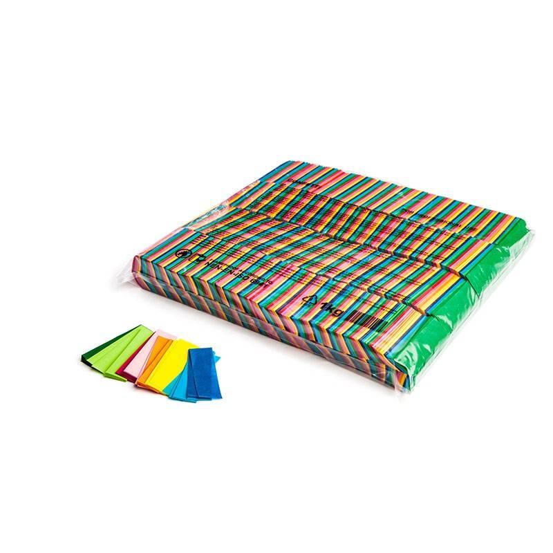 Magic FX Slowfall confetti 55x17 mm - 1kg - Multicolour