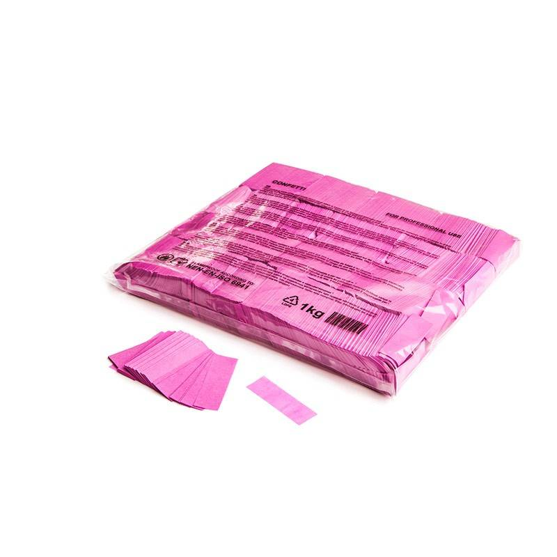 Magic FX Slowfall confetti 55x17 mm - 1kg - Roze