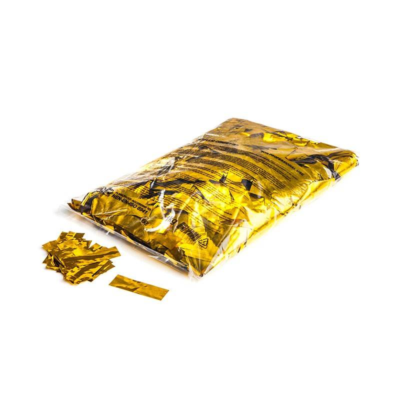 Magic FX Metallic confetti 55x17 mm - 1kg - Or