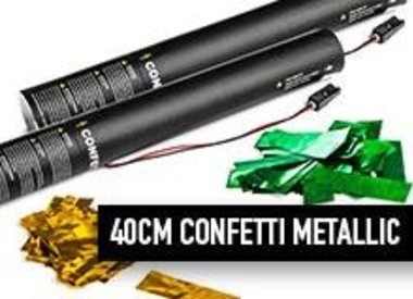 40 cm Confetti métalliques