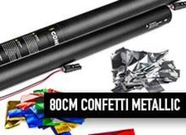 80 cm Confetti métalliques