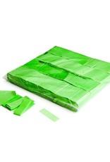 Magic FX Slowfall confetti UV 55x17 mm - 1kg - Vert Fluo