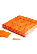 Magic FX Slowfall confetti UV 55x17 mm - 1kg - Orange Fluo