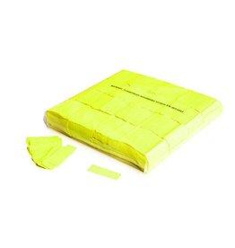 Magic FX Slowfall confetti UV 55x17 mm - 1kg - Jaune Fluo