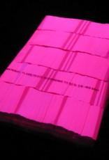 Magic FX Slowfall UV confetti 55x17 mm - 1kg - Fluo Roze