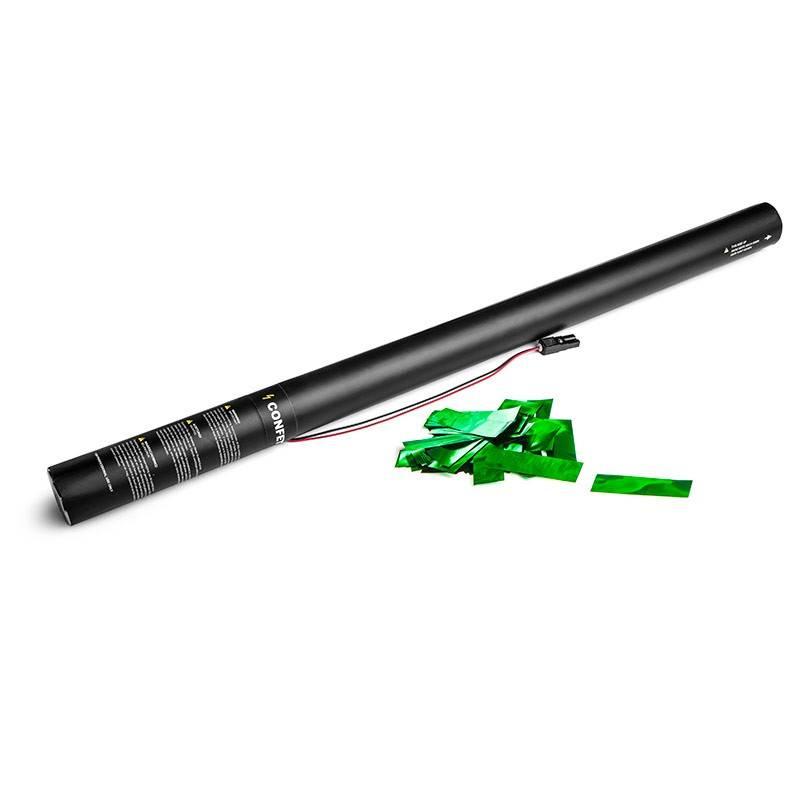 Magic FX Canon à Confetti Electrique 80cm - Vert Metallique