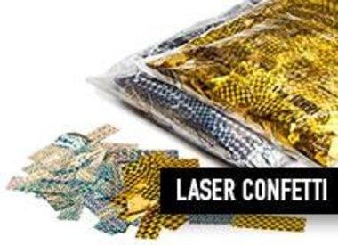 Metallique Laser slowfall Confetti