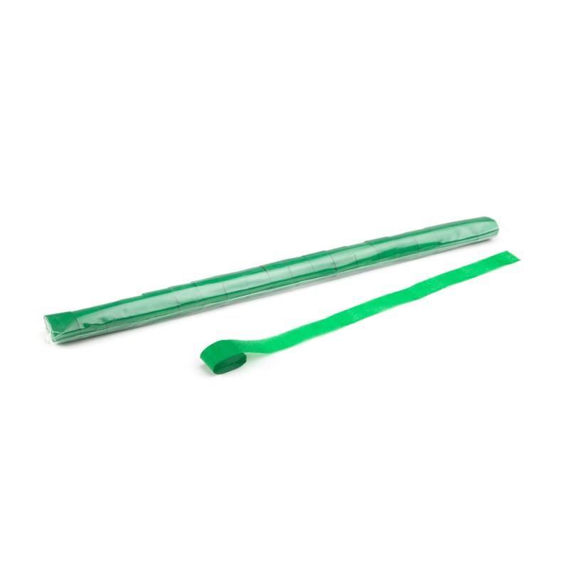 Magic FX Paper Streamer 10m x 2,5cm - Donker Groen