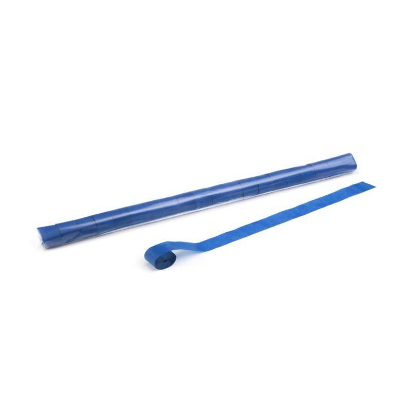 Magic FX Serpentin (papier) 10m x 2,5cm - Bleu Foncé
