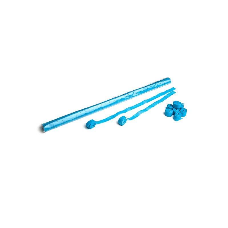 Magic FX Serpentin (papier) 10m x 1,5cm - Bleu Clair