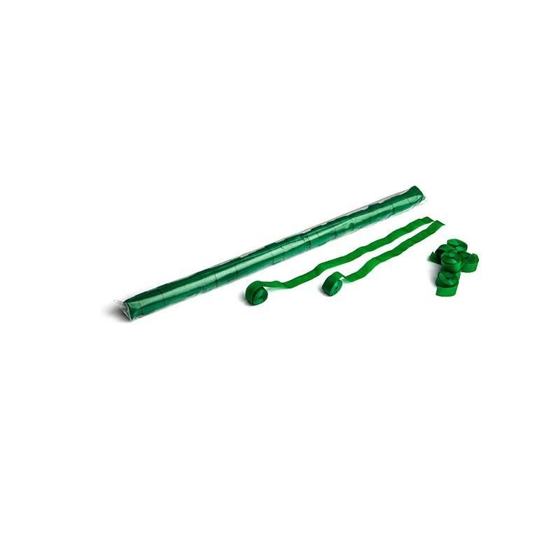 Magic FX Paper Streamer 10m x 1,5cm - Donker Groen