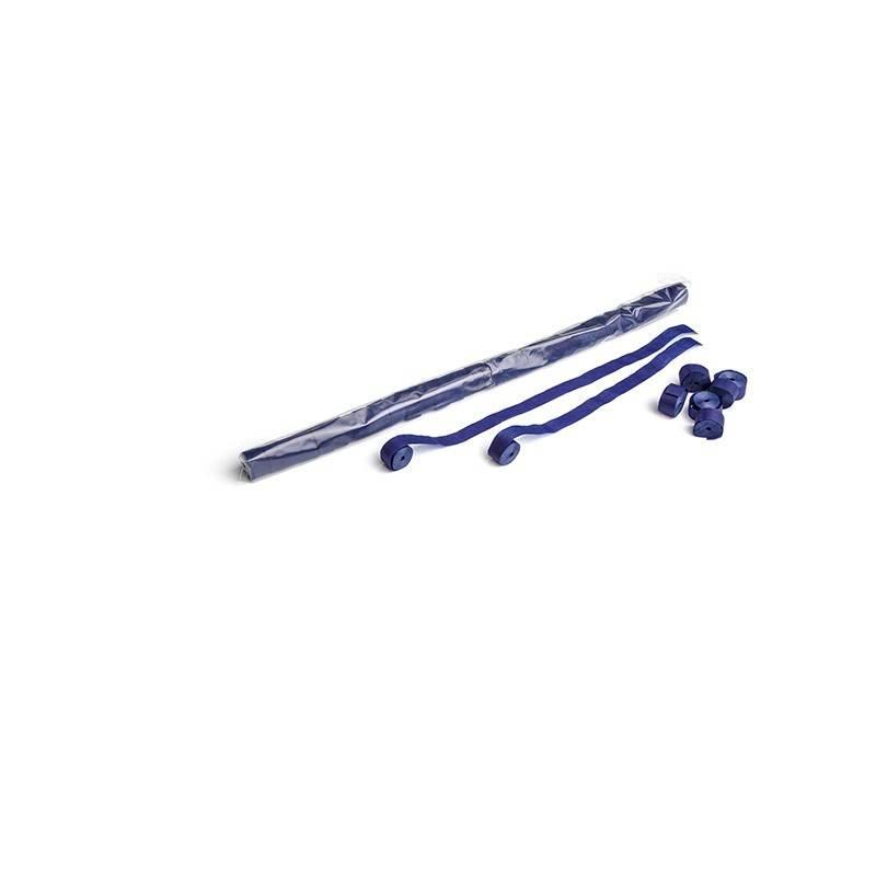 Magic FX Paper Streamer 10m x 1,5cm - Donker Blauw