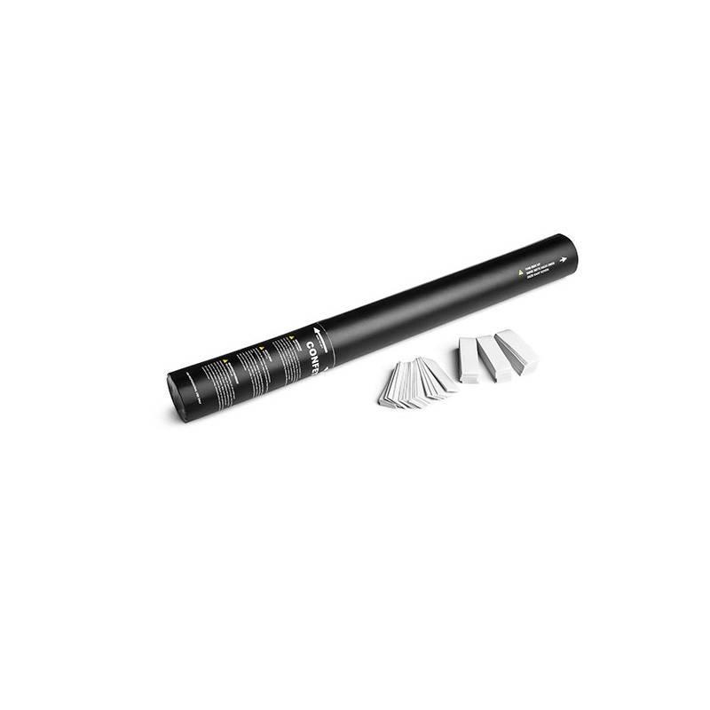 Magic FX Handheld Confetti Shooter 50cm - Wit