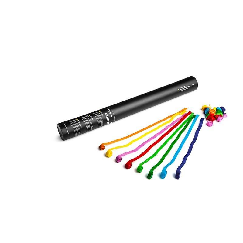 Magic FX Canon à Confetti Manuel Serpentin 50cm - Multicolour