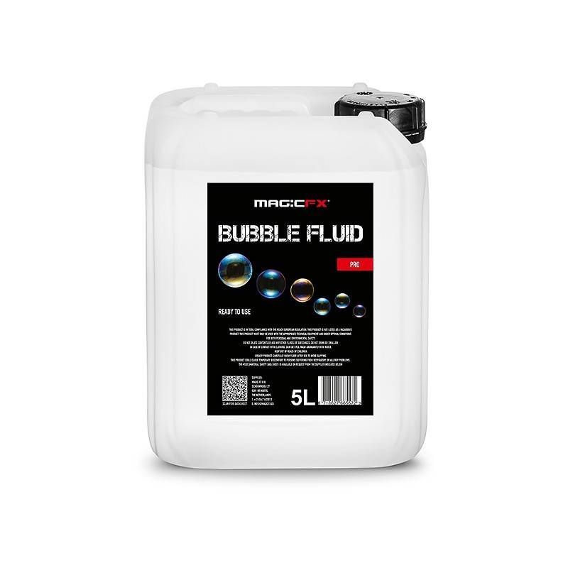 Magic FX Bubbel Vloeistof 5 L Pro
