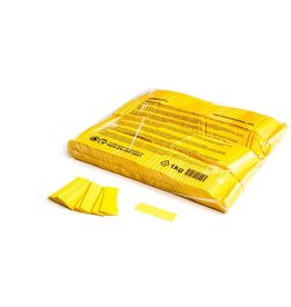 Magic FX Slowfall confetti 55x17 mm - 1kg - Geel