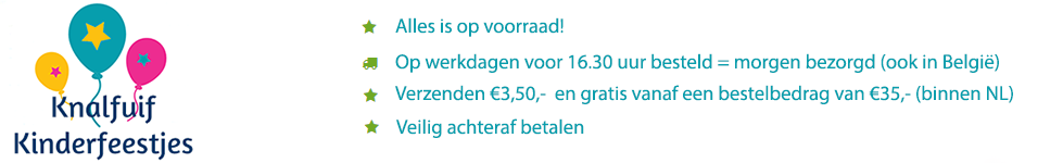 Webshop in kinderfeestartikelen