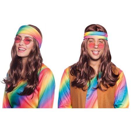70's pruik met hoofdband