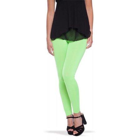 Neon groene legging